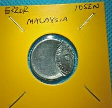 ERROR COIN MALAYSIA 10SEN 2011/2019YEAR