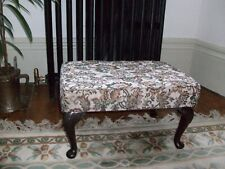Vintage Sherborne  Foot Stool  with  Queen Anne style legs