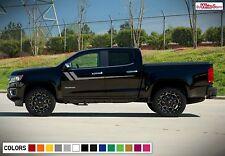 Decal Sticker Side Door Stripe Body Kit for Chevrolet Colorado Offroad 2012-2017