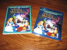 Alice in Wonderland: Walt Disney (1951) Blu-ray/DVD/ Digital HD] NEW + Fast Ship