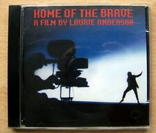 Laurie Anderson Home Of The Brave CD