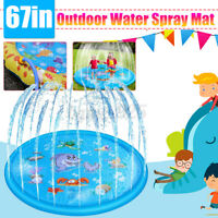 PVC Kids Rug Play Mat Cushion Soft Sprinkler Carpet Baby Educational Toddlers