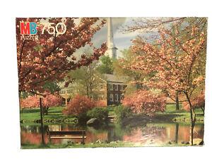 Vintage NEW SEALED Milton Bradley 1986 Oxford Series 750 pc Puzzle Westfield NJ