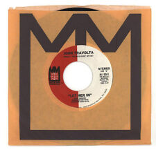 John Travolta 1978 Midsong 45rpm Let Her In b/w Whenever I'm Away From You NM