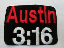 STEVE AUSTIN COLLECTABLE RARE VINTAGE PATCH EMBROIDED 90'S WRESTLING WWF WWE