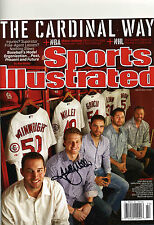 SHELBY MILLER AUTOGRAPHED AUTO SIGNED SPORTS ILLUSTRATED MAGAZINE SI 5/27/2013