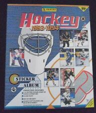 1993-94 Panini Hockey Sticker Complete Set & Mint Album (300)