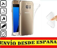 "Funda Gel Tpu posterior para Samsung Galaxy S7 ""5.1"" Carcasa Transparente"
