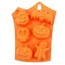 HALLOWEEN - Party  Silicone Mould Fondant Cake Decorating Topper Bat pumpkin