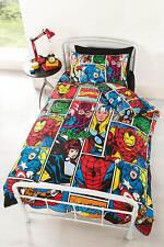 Marvel Comics Justice Enfants ensemble de couette literie housse d'oreiller