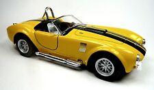 NEU: 1965 Ford Shelby Cobra 427 S/C Sammlermodell 1:32 gelb Neuware v. KINSMART