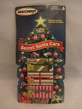 Matchbox  Secret Santa Cars   3 Pack Gift Set  NOC  2002  (7D10) 91887