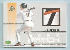 CAL RIPKEN 2001 UPPER DECK 4 COLOR GAME USED PATCH