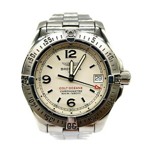 BREITLING Watch  A77380 COLT OCEANE operates normally Men's Silver 1813915