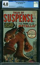 Tales of Suspense #16 CGC 4.0 -- 1961 -- Kirby.  Metallo. Iron Man. #2013658003