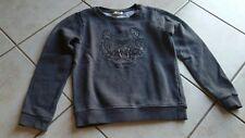 V.good Use Kenzo Kids Tiger Logo Sweater Darl grey 8Ays/128 Sz Gorgeous stylish