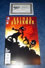 BATMAN SUPERMAN #26 signed WB variant GREG PAK DARK KNIGHT SYLVESTER TWEETY COA