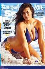 ASHLEY GRAHAM - SPORTS ILLUSTRATED 2016 SWIMSUIT POSTER 22x34 SEXY PIN UP 14358