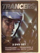 Trancers (3 DVD SET, 2013) ALL THREE TRANCER MOVIES (NEW/SEALED)