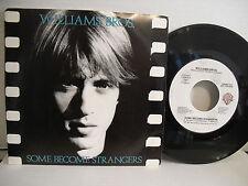Williams Bros, Some Become Strangers, Warner Bros 7-28403 DJ, WLP 1987 Synth Pop