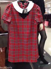 Atmosphere Polyester Checked Short Sleeve Dresses for Women