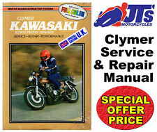 CLYMER WORSHOP REPAIR MANUAL KAWASAKI KZ400 1974-1979 Z400 KZ 400 TWINS M355