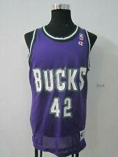 Vintage Milwaukee Bucks NBA Jersey Vin Baker #42 Champion size 40