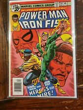 Power Man and Iron Fist #54, VF 8.0, First Appearance as Heroes For Hire