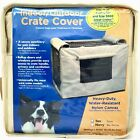 Precision Indoor Outdoor Dog Crate Cover Tan Nylon Canvas 30 inch size 3000 NEW