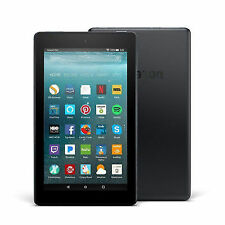 """Amazon-Fire - 7"""" - Tablet - 8GB 7th Generation, 2017 Release-Black"""