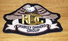 Harley Davidson Owners Group HOG Motorcycle Jacket Vest Eagle Patch  - 4.75""