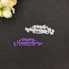 happy anniversary framed cutting dies stencil scrapbook album paper craft TB