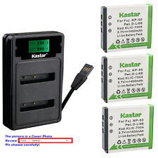 Kastar Battery LZD2 Charger for Fujifilm NP-50 FNP-50 NP-50 BC-50 BC-45W BC45W