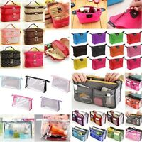 Multifunction Travel Makeup Case Women Cosmetic Bag Pouch Toiletry Storge Case