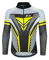 X-2 Men's Breathable Shirt Summer Long Sleeve Cycling Bike Jersey