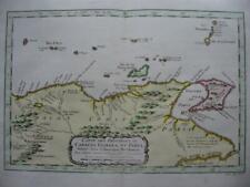 1754 - BELLIN - Map  E. VENEZUELA  Caracas Cumana Paria
