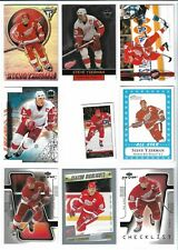 VARIOUS MIXED LOT UPPER DECK PACIFIC UD STEVE YZERMAN BASE UD RED WINGS