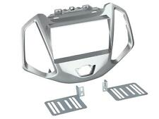 Radioeinbauset 2 DIN Blende Adapter Auto Ford EcoSport JK8 ab 2014 silber