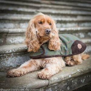 Country Pet Luxury Tweed Dog Coat, XXS - XXL, Free P&P