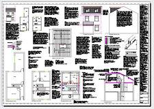 ** Venta ** Loft planes de CAD de conversión-todas las regulaciones de construcción a 2017
