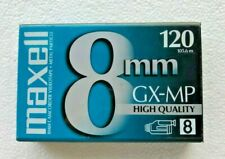 (1) MAXELL 8 mm GX-MP Camcorder Video Tape 120 High Quality NEW & SEALED