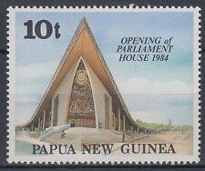 Papua-Neuguinea 1984 ** Mi.477 Parlamentsgebäude Parliament House [sq6024]