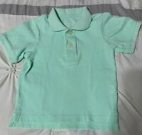Toddler Boys Green THE CHILDREN'S PLACE Short Sleeve Polo Shirt - Size 2T