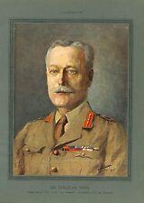 WWI Portrait Général Field Marshal Douglas British Army UK  B ILLUSTRATION