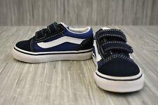 *Vans Kids Old Skool V Sneaker, Toddler Boy's Size 6, Navy
