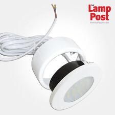 Eterna cledcirwh LED 1.7W de superficie de luz empotrada gabinete Circular-acabado en blanco