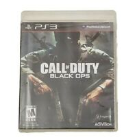 PS3 Call of Duty Black Ops Video Game Sony PlayStation 3