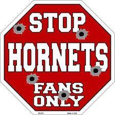 NBA Basketball Charlotte Hornets Metal Stop Sign Man Cave Garage Barn Shop BS261