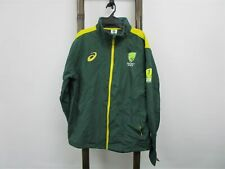 NEW Asics Cricket Ashes 2019 CATO 19 Jacket Forest Green Mens Size L  RRP$150