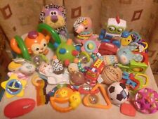 Lot Infant baby Toys Soft - Light & Sound - Teething - Rattles